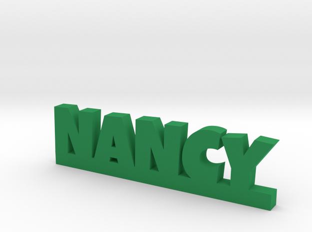 NANCY Lucky in Green Processed Versatile Plastic