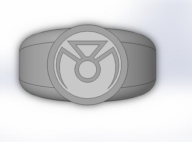 Phantom Lantern Ring in White Strong & Flexible