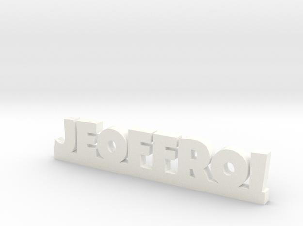 JEOFFROI Lucky in White Processed Versatile Plastic