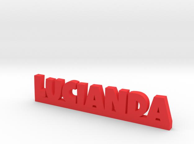 LUCIANDA Lucky in Red Processed Versatile Plastic