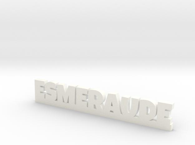 ESMERAUDE Lucky in White Processed Versatile Plastic
