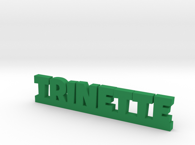 TRINETTE Lucky in Green Processed Versatile Plastic