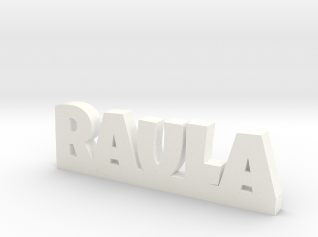 RAULA Lucky in White Processed Versatile Plastic