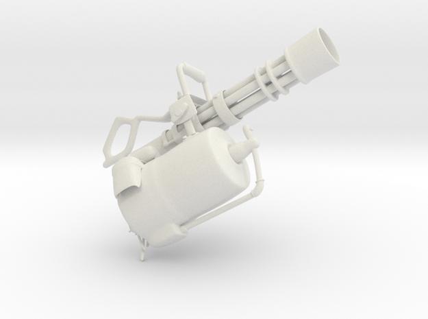Minigun in White Strong & Flexible
