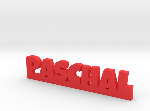 PASCHAL Lucky in Red Processed Versatile Plastic