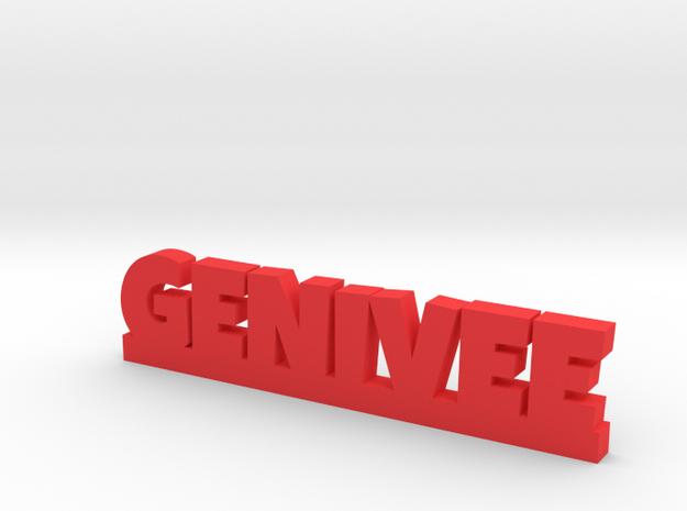 GENIVEE Lucky in Red Processed Versatile Plastic