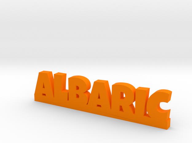 ALBARIC Lucky in Orange Processed Versatile Plastic