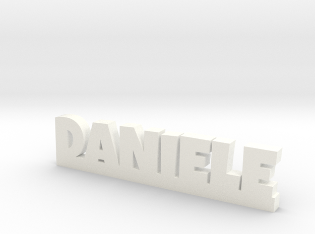 DANIELE Lucky in White Processed Versatile Plastic