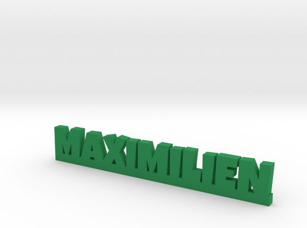 MAXIMILIEN Lucky in Green Processed Versatile Plastic
