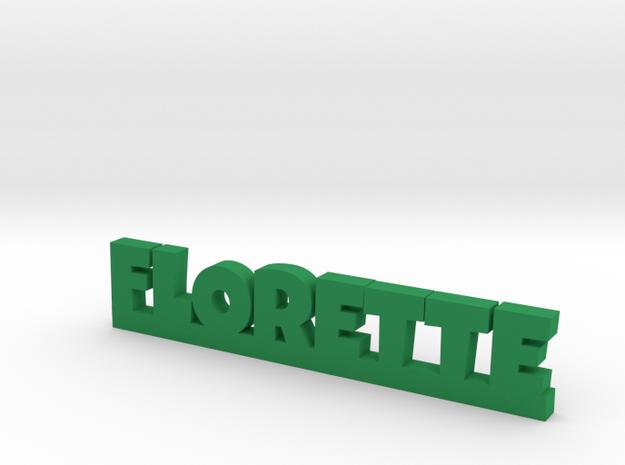 FLORETTE Lucky in Green Processed Versatile Plastic