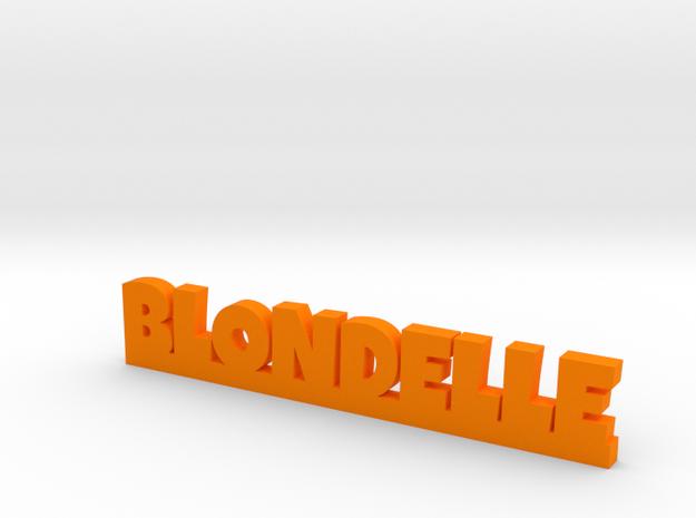 BLONDELLE Lucky in Orange Processed Versatile Plastic