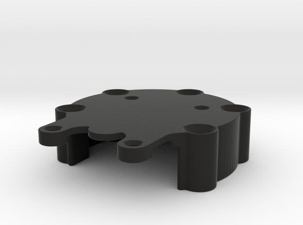 DSD Circuit Mount 50mm Bolt pattern in Black Natural Versatile Plastic