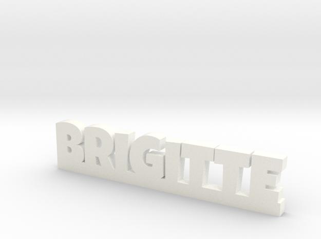 BRIGITTE Lucky in White Processed Versatile Plastic