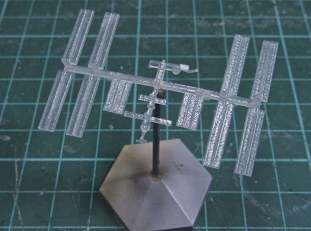 1/1000 NASA International Space Station ISS (WSF) in White Strong & Flexible