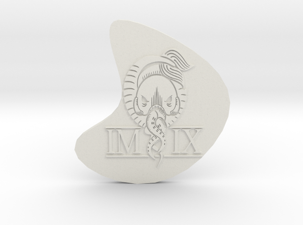IMIX pendant in White Natural Versatile Plastic