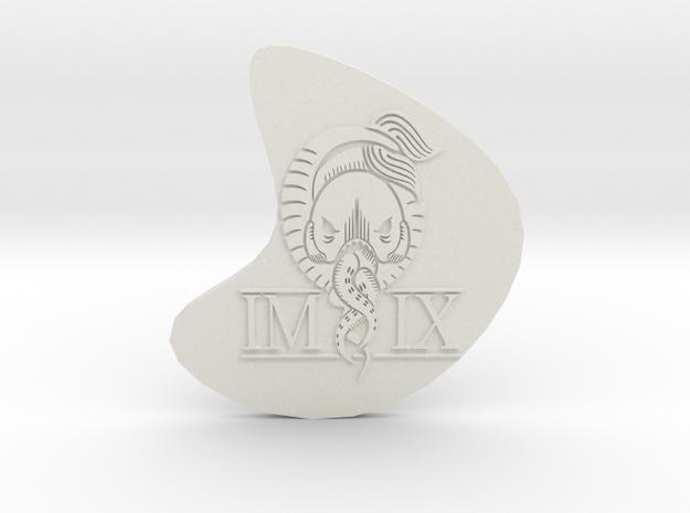 IMIX pendant in White Natural Versatile Plastic