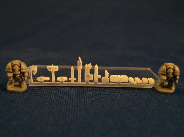 6mm Gothic Assault Weapons