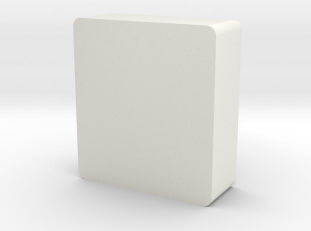 Re-Holer Debowler in White Natural Versatile Plastic