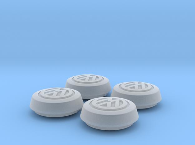"""Fuchs"" Wheel Cap, Volkswagen Emblem RIM004-0C in Smooth Fine Detail Plastic"