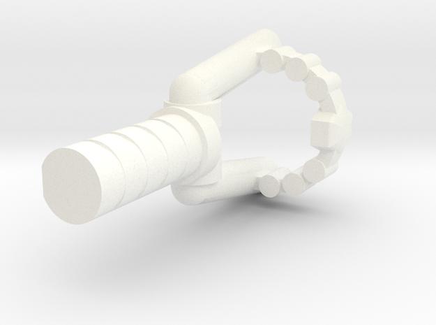 Titans Returns Legends Wheelie Slingshot in White Processed Versatile Plastic