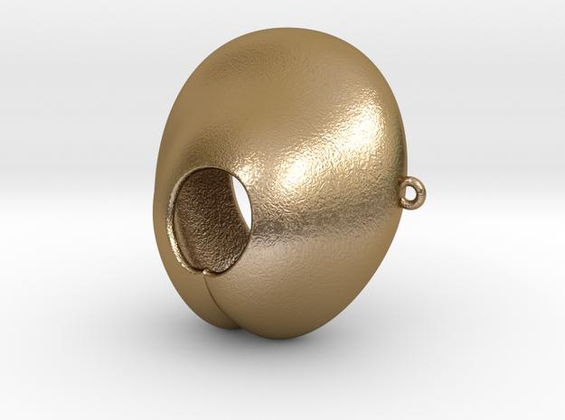 Electrosex Penis tip, E-Stim V4 Small in Polished Gold Steel
