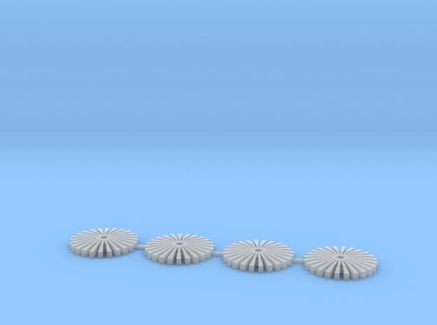 Rim insert V8 in Smooth Fine Detail Plastic