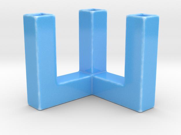 900 VASE in Gloss Blue Porcelain