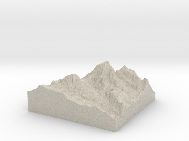 Model of Teepe Pillar in Sandstone