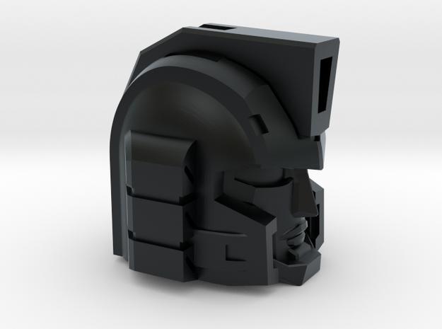 Professor Sharpshooter's Head Voyager 1pc in Black Hi-Def Acrylate
