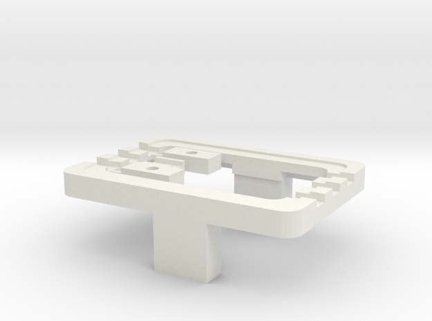 Weiche Magnetband in White Natural Versatile Plastic