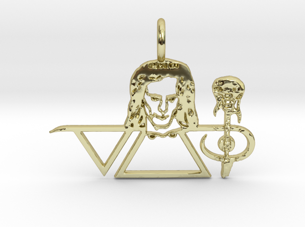 Steve Vai Pendant in 18k Gold