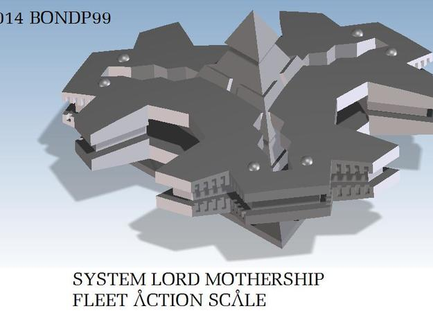 System Lord Mothership in White Strong & Flexible