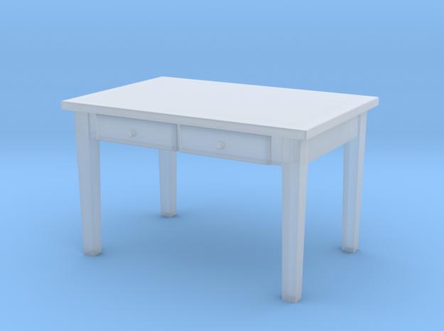 TT Kitchen Table - 1:120 in Smooth Fine Detail Plastic