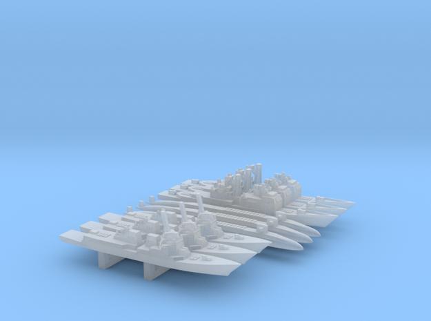 US Modern Warship custom Pack 1, 1/6000