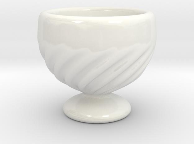 Little Goblet in Gloss White Porcelain