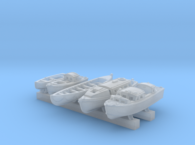 1/700 Scale RN Tribal Class Boat Set in Smoothest Fine Detail Plastic