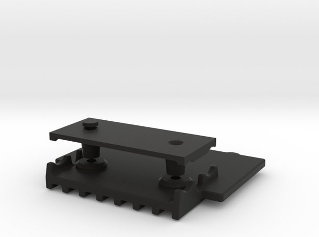 058016-01 Tamiya ORV Skid Plate, Middle in Black Natural Versatile Plastic