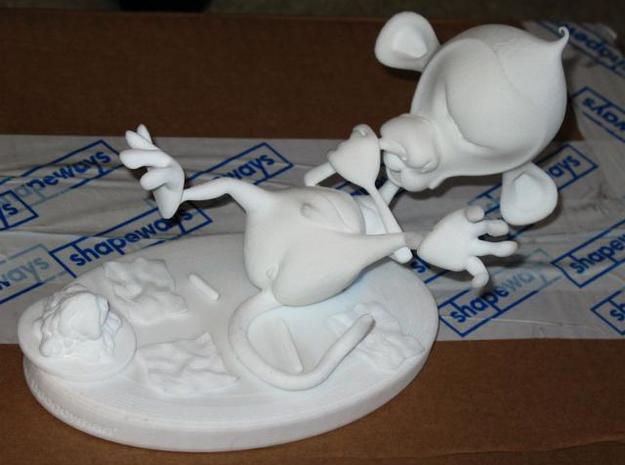 'Ode to the Boogieman' playset 3d printed Looie in all his glory 8D