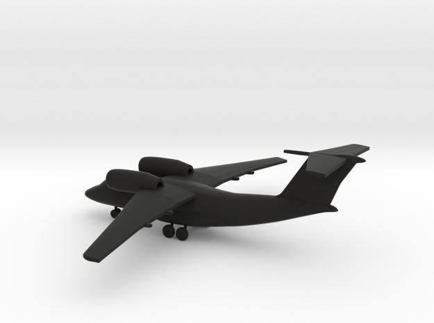 Antonov An-74 Coaler in Black Natural Versatile Plastic: 1:350