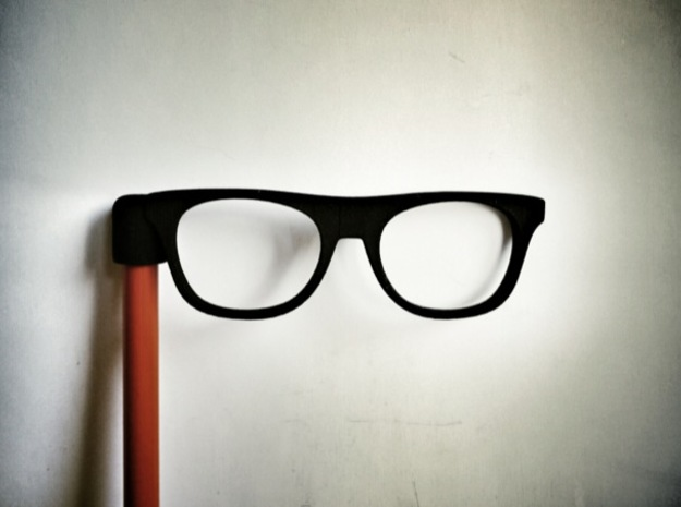 Glasses Penciltop: The Beatnik in Black Strong & Flexible