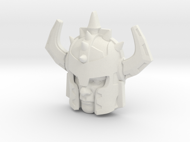 Jetstrike Human Face (Titans Return) in White Natural Versatile Plastic