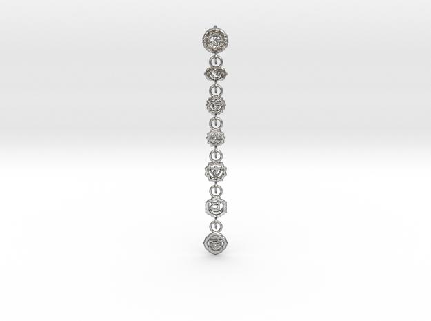 7 Chackras Buddist Pendant (Interlocking, 7,5 cm)