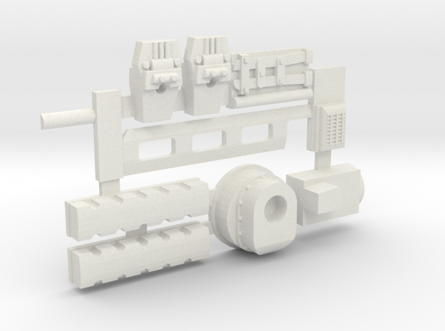 Rocker covers and much much more! for Y-Wing in White Natural Versatile Plastic