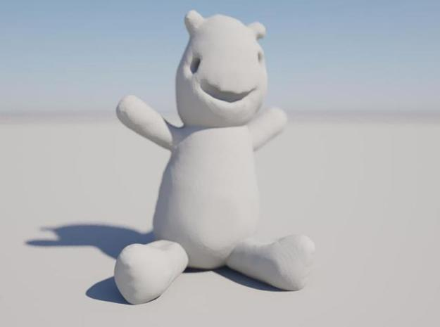 Sketched Teddy 3d printed Love me!
