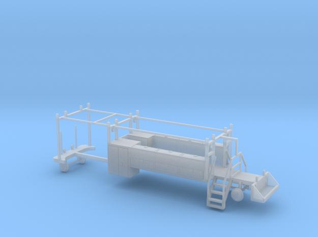 MOW Rail Truck 2 Door Cab Tool Bed 1-87 HO Scale