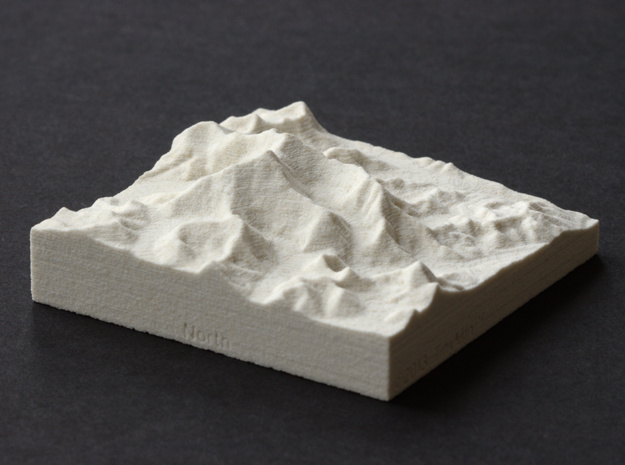 3''/7.5cm Mt. Everest, China/Tibet, Sandstone in Natural Sandstone