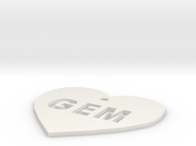 "Heart Name Tag Medium (2"")"