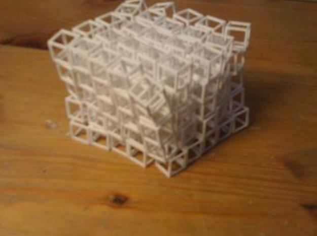 Cube Network 3d printed Cube messed up.