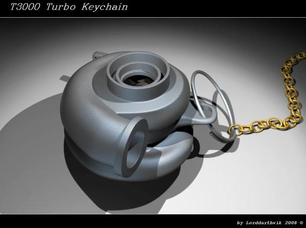 Turbo Keychain 3d printed A render of the turbo made in 3dsmax5.