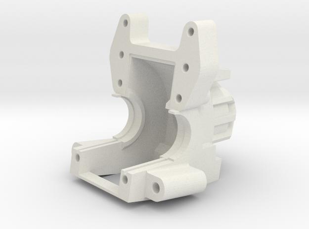 AXIAL YETI / EXO Bulkhead V5 in White Natural Versatile Plastic